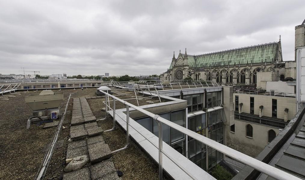 Le site du Centre administratif. © Ville de Paris-Jean-Pierre Viguié