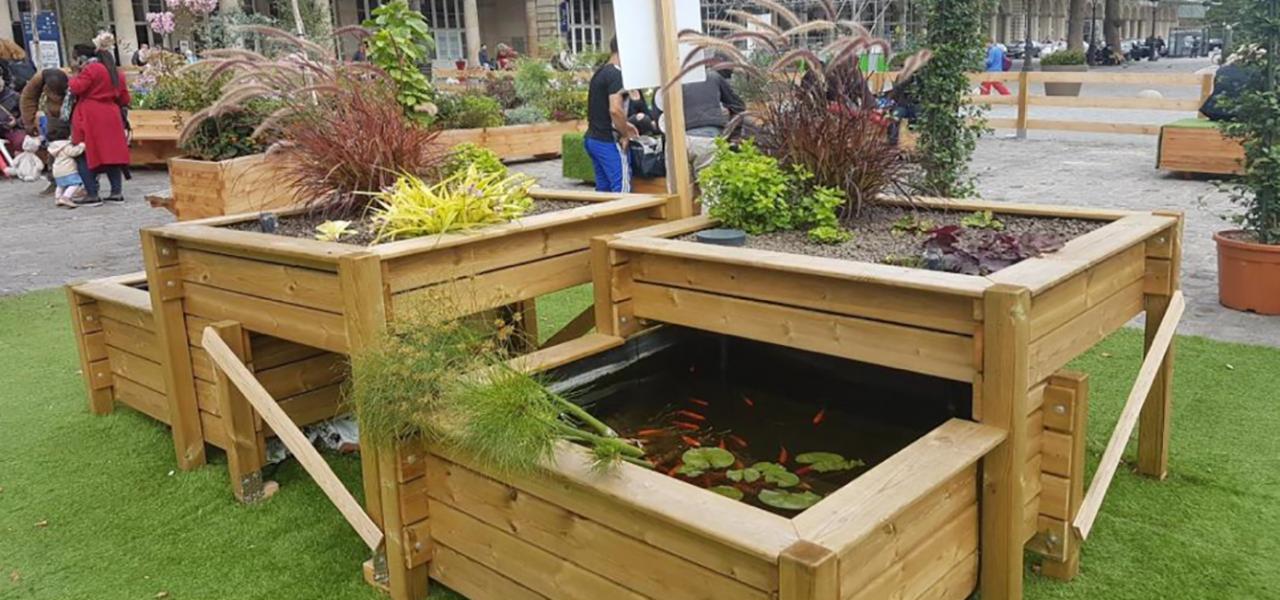 © L'équipe lauréate AMP va mettre en place une ferme urbaine en aquaponie sur le toit du futur Centre sportif Poissonniers dans le 18e.