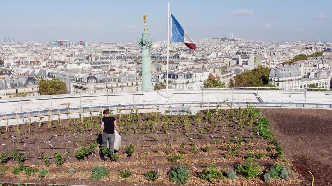 Film Topager, Opéra Bastille, 12e. © Cityside-Ville de Paris