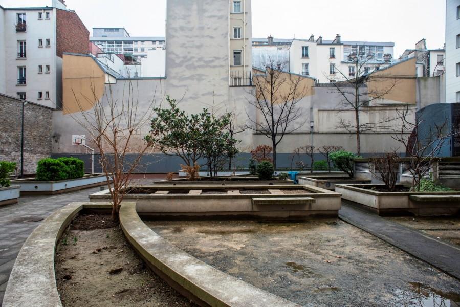 Cour intérieure. Source : Ville de Paris
