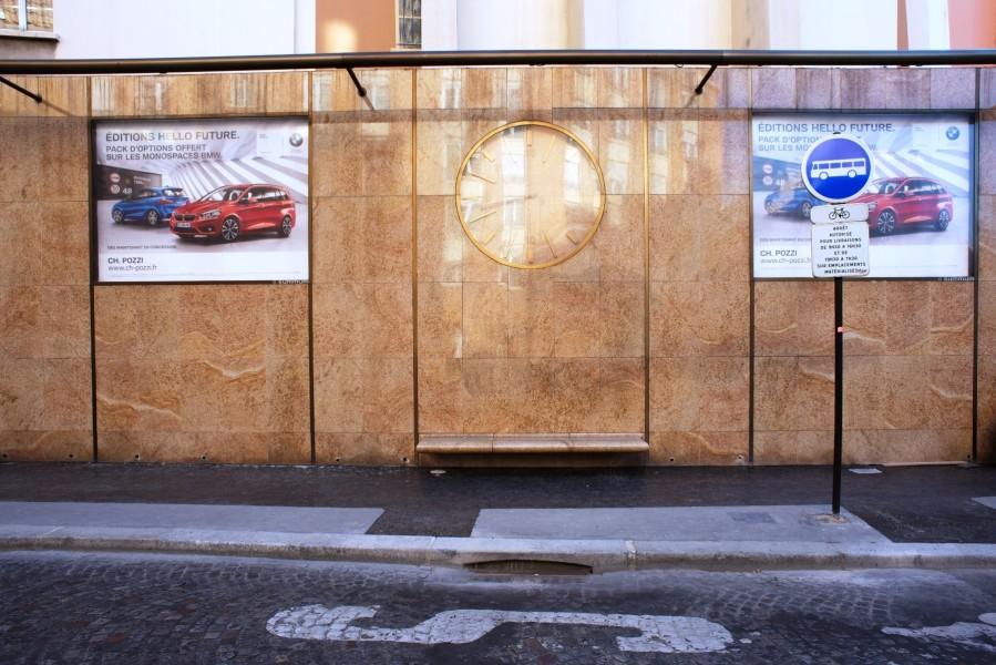 Mur avenue Delcassé. Source : Mairie de Paris Jean-Pierre Viguié ©