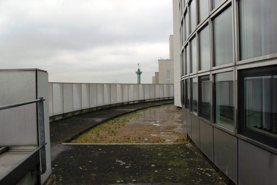 Toit-terrasse de l'opéra Bastille. Source : Mélanie Collé ©
