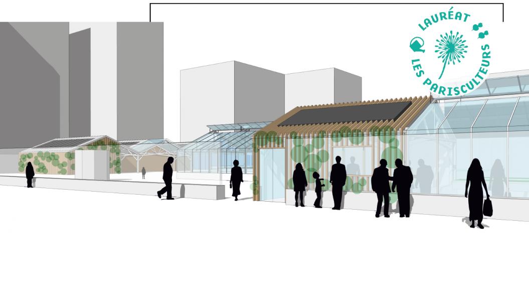 Projet lauréat : la micro-ferme de Charonne