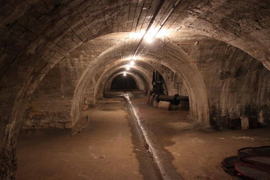 Réservoir de Grenelle. Détail cave. Source : Mairie de Paris Jean-Pierre Viguié ©