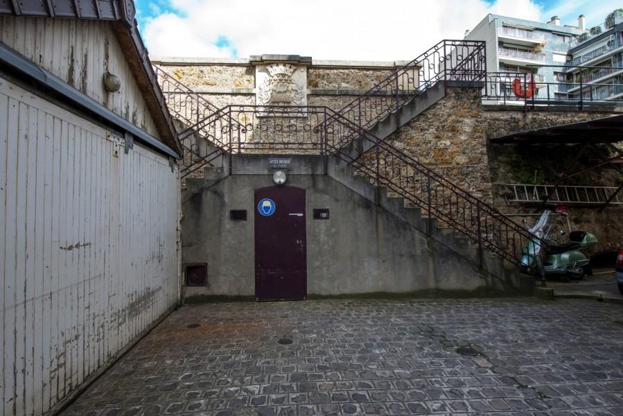 Réservoir de Grenelle. Source : Mairie de Paris Jean-Pierre Viguié ©