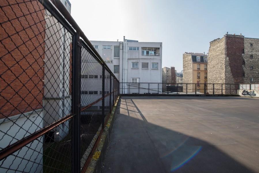 Gymnase Glacière. Source : Mairie de Paris Jean-Pierre Viguié ©