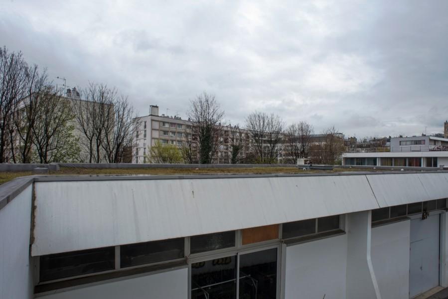 Collège Pailleron. Détail terrasse A. Source : Mairie de Paris Jean-Pierre Viguié ©