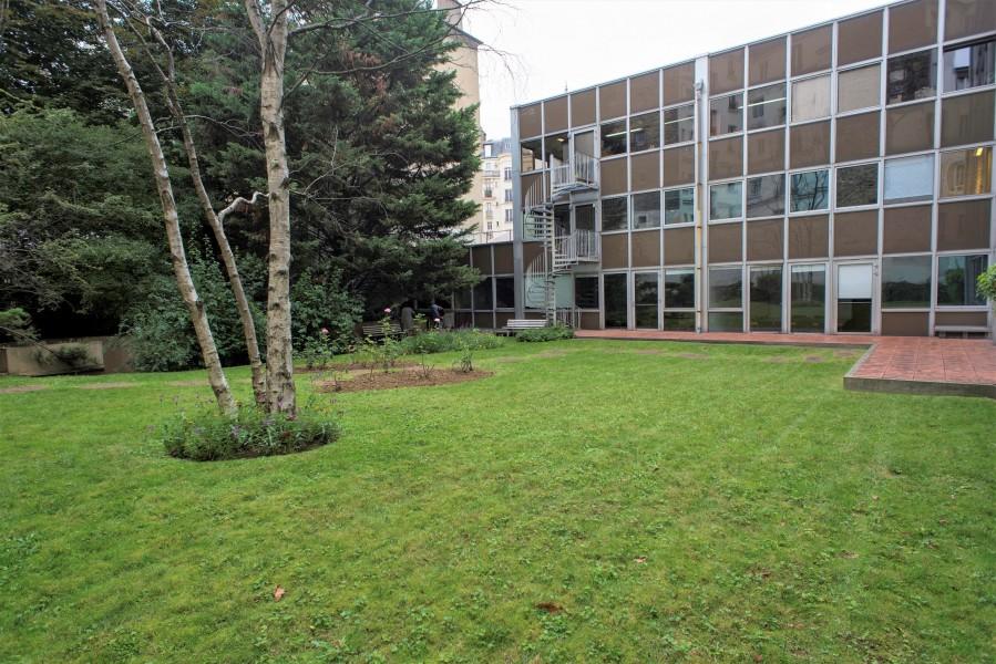 Jardin du 44 rue d'Alésia. Source : Mairie de Paris Jean-Pierre Viguié®