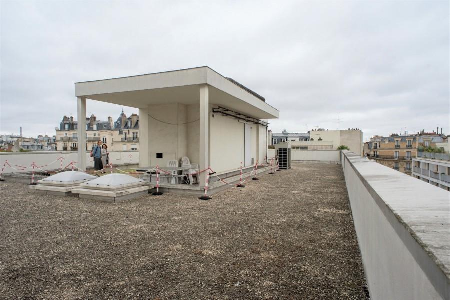 Toiture du 44 rue d'Alésia. Source : Mairie de Paris Jean-Pierre Viguié®