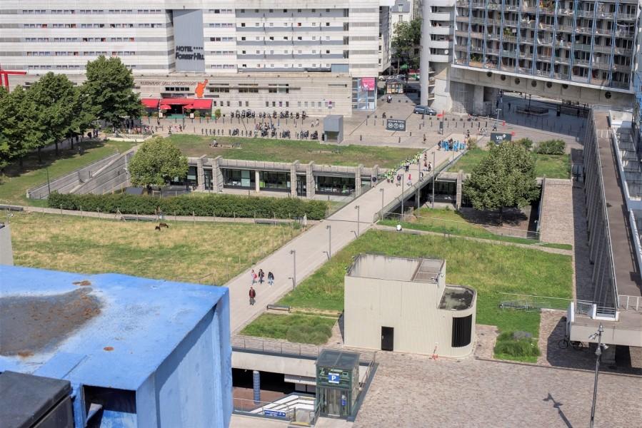 Cité des Sciences et de l'Industrie - Parvis Nord. Source : Mairie de Paris Jean-Pierre Viguié®