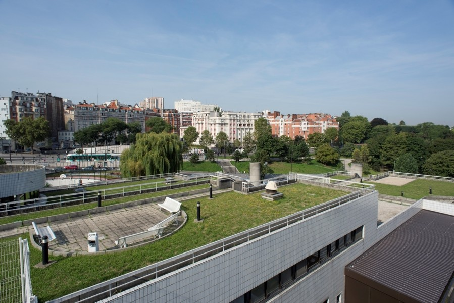 Hôpital universitaire Robert-Debré (19e). Source : Mairie de Paris Jean-Paul Vigné®