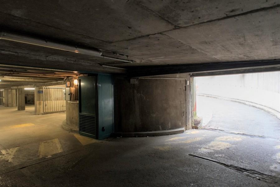 Sous-sol de la Résidence Mathis (19e). Source : Mairie de Paris Jean-Pierre Viguié®