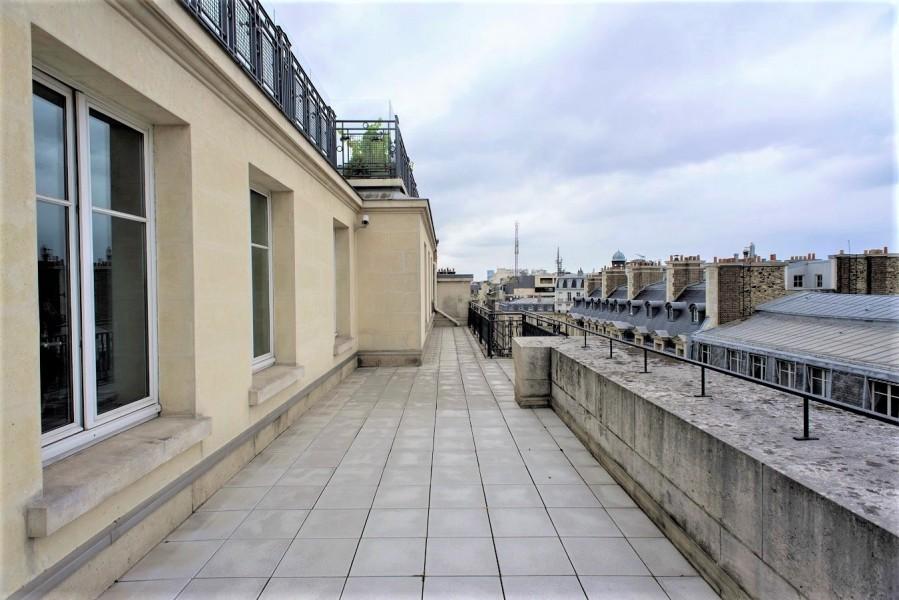 Toiture A du 3 rue Bayard. Source : Mairie de Paris Jean-Pierre Viguié®