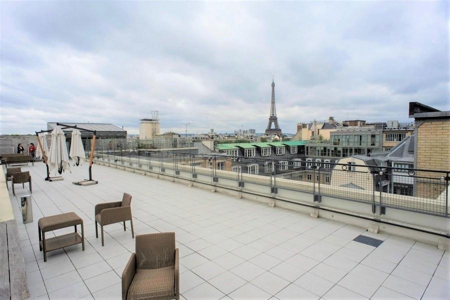 Toiture B du 3 rue Bayard. Source : Mairie de Paris Jean-Pierre Viguié®