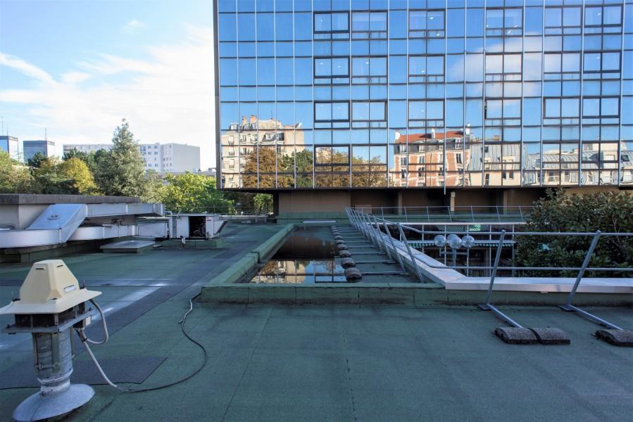 Terrasse de l'EHPAD Alquier Debrousse. Source : Mairie de Paris - Jean-Pierre Viguié®