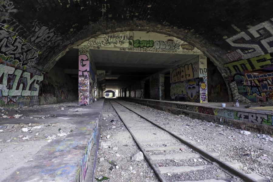 Site Tunnel Friant. Source : Mairie de Paris Jean-Pierre Viguié®