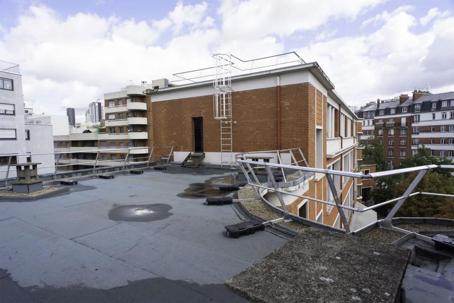 Terrasse B du Collège Modigliani. Source : Mairie de Paris - Jean-Pierre Viguié®