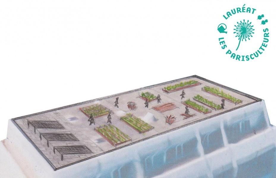 Projet lauréat : La ferme Mathis. Source : Le Plant Social®