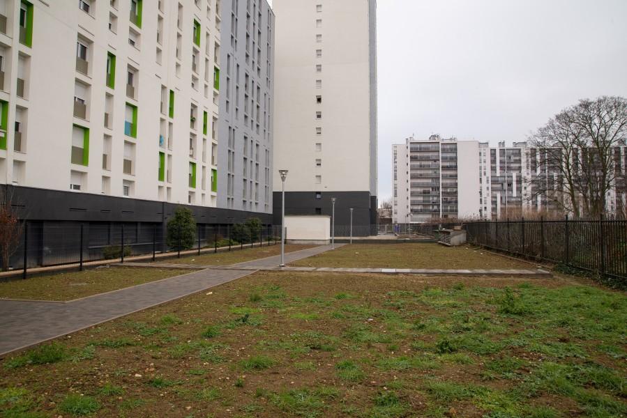 Résidence Jean Jaurès. Source : Mairie de Paris Antoine Polez®
