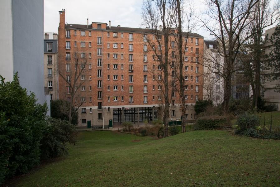 Résidences Villette et Turot. Source : Mairie de Paris Antoine Polez®