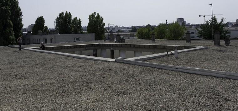 Le centre technique municipal au coeur de Pantin. © Ville de Paris-Jean-Pierre Viguié
