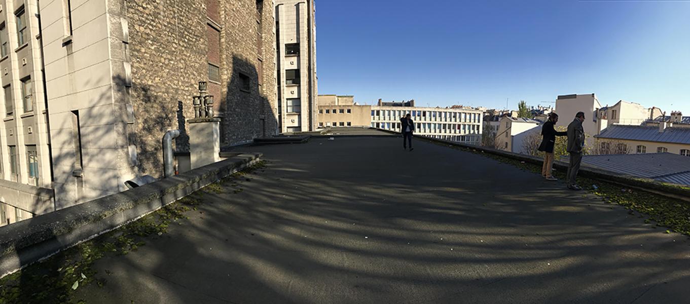 Rive gauche, le groupe scolaire Saint-Benoît © Jean-Pierre Viguié