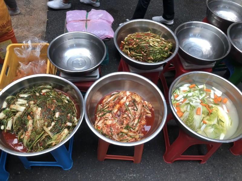 © Légumes fermentés du marché. © J-Delpech-Ville de Paris