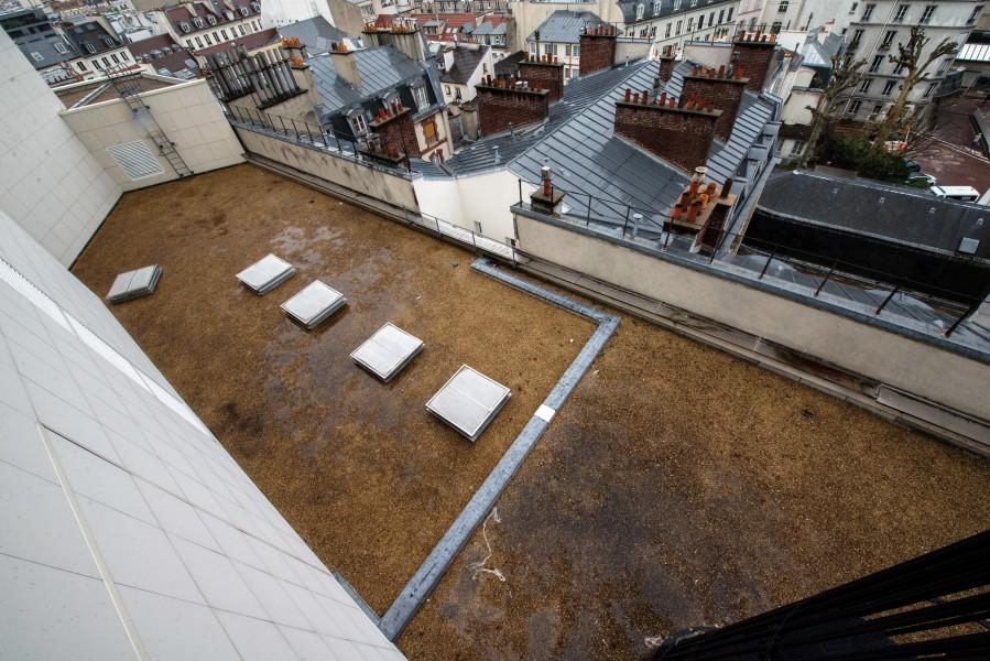 Toit-terrasse de l'opéra Bastille. Source : Ville de Paris