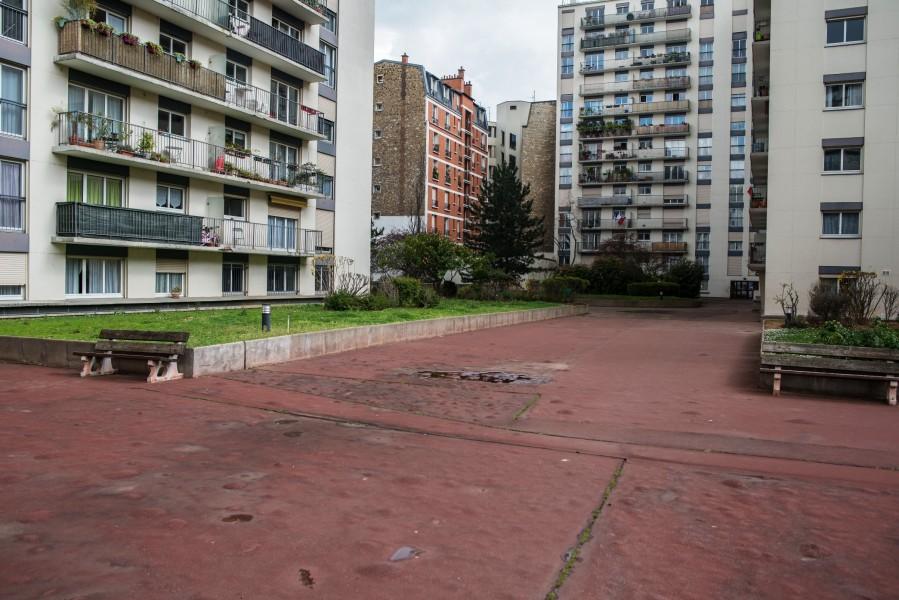 Résidence Lourmel. Source : Mairie de Paris Christophe Noel ©