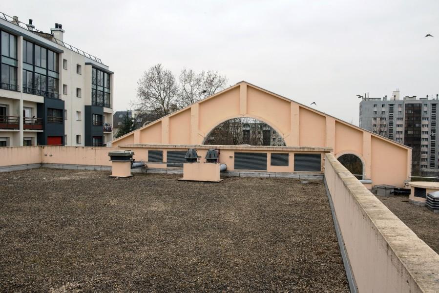 Conservatoire Georges Bizet. Détail terrasse C. Source : Mairie de Paris Christophe Noel ©