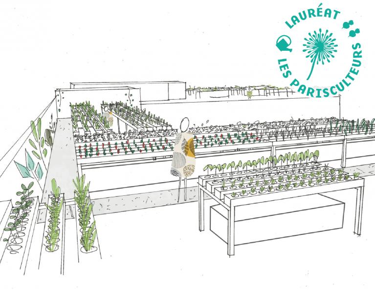 Projet lauréat : La ferme Paris Bourse