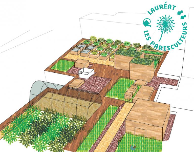 Projet lauréat : Une microferme urbaine