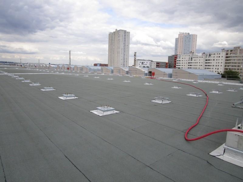 Chapelle international.Détail des éléments de structure permettant l'installation d'une serre. Source : Mairie de Paris
