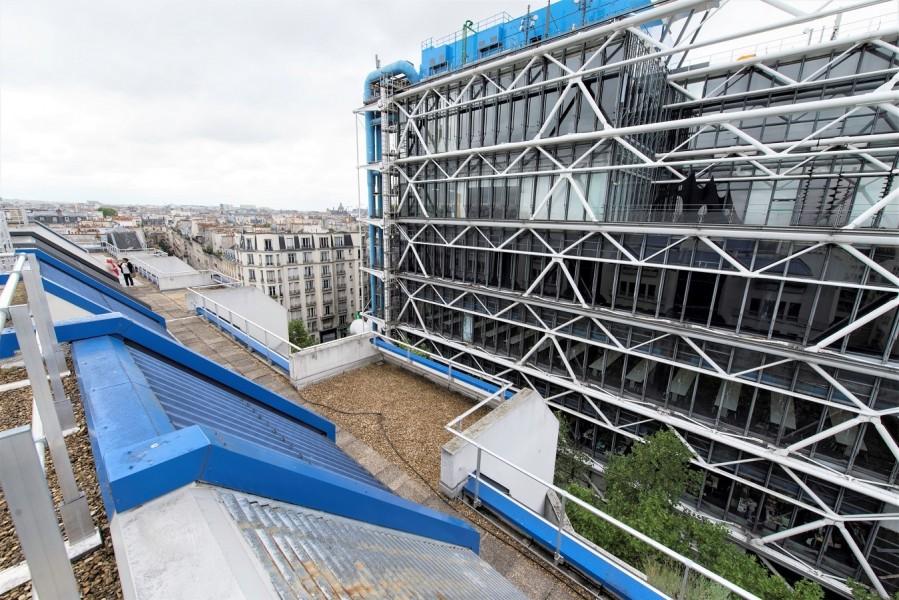 Terrasses du 4 rue Brantôme (3e). Source : Mairie de Paris Jean-Pierre Viguié®