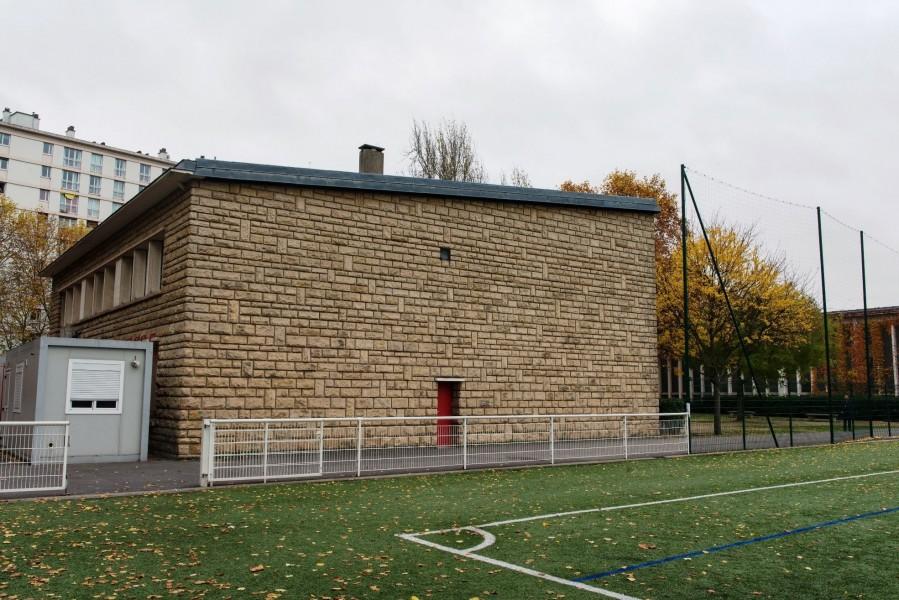 Site centre sportif Charles Rigoulot, Mur. Source : Mairie de Paris Jean-Pierre Viguié ®