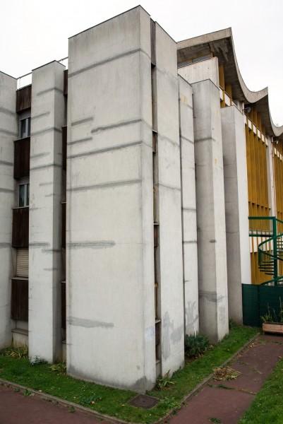 Site centre sportif La Plaine, Mur 1. Source : Mairie de Paris Jean-Pierre Viguié ®