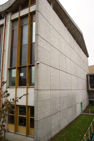 Site centre sportif La Plaine, Mur 2. Source : Mairie de Paris Jean-Pierre Viguié ®