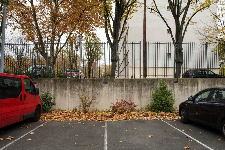 Site centre sportif La Plaine, grille. Source : Mairie de Paris Jean-Pierre Viguié ®