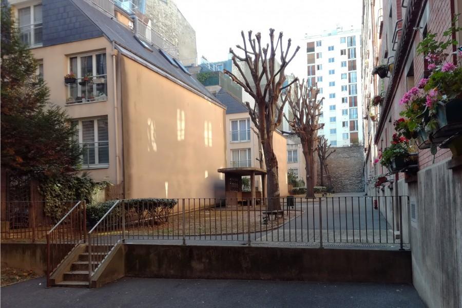 Résidence Montempoivre. Source : Mairie de Paris Antoine Polez®